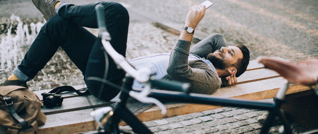man-phone-bike